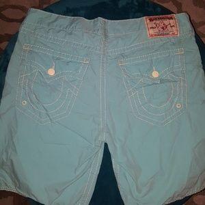 Mens True Religion Board shorts